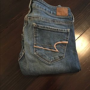 Women's American Egeal Sz 2 Skinny Jeans